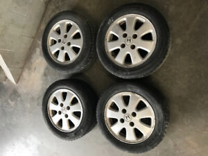 Honda Accord prelude 15inch 4x114.3 6.5J  alloy wheels wheel set