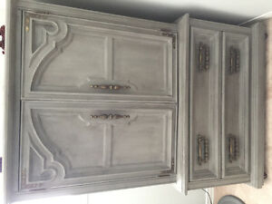 Beautiful Solid Wood Armoire