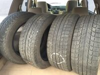205/55/16 Michelin X-Ice Winter Tires $240obo
