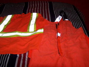 work king overalls,storm fighter reflective jacket and shirt Stratford Kitchener Area image 3