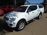 2014 Mitsubishi L200 2.5DI-D CR 4WD Barbarian Factory WHITE ( NO VAT )