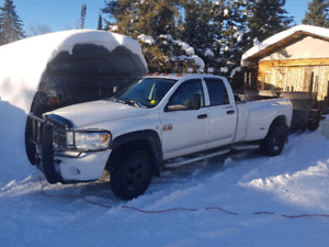 2008 one ton dodge with duals