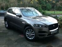 A Nearly New Beautiful Jaguar F Pace