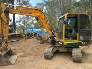 Hyundai R 55-9 Excavator Archerfield Brisbane South West Preview