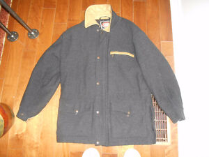 Mens Outback wool coat