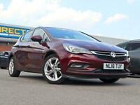 2018 Vauxhall Astra 1.4 SRi Turbo 5DR Hatch Petrol Hatch Petrol Manual
