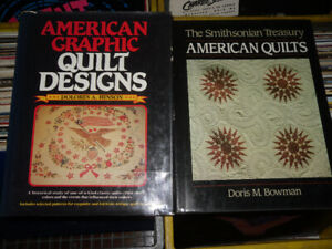 2 quilt books - Graphic Quilt Designs - American Quilts