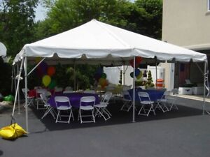 Tent! Chairs! Tables for rent