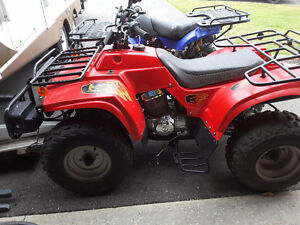2005 250cc 4 wheeler $1200 Peterborough Peterborough Area image 4