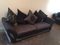 3 &2 seater fabric sofa