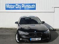 2012/62 BMW 118D 1 Series Manual Diesel 5dr Saloon in Black