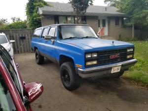 Diesel suburban