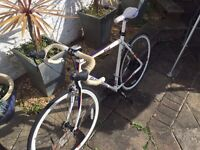 Must go! Raleigh Racing Bike + Pedals and Carbon Shoes £100