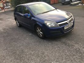 Vauxhaull astra 1.7 CDTI starts and drives Excellent partx to clear