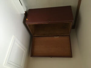 Wooden Chest for sale.