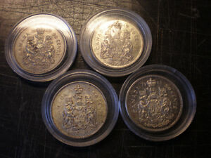CANADIAN SILVER COINS...
