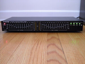 Graphic Equalizer-Pyramid- Model SEA-6600-12 frequencies/channel