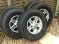 Land Rover Defender Wheels & Tyres X 5