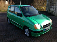 2002 Hyundai Amica 1.0cc 5 Door Jade Green Metallic