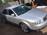 Silver Audi A4 1.9tdi alloys manual