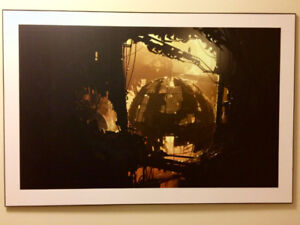 Professionally mounted Portal 2 video game posters (set of 4)