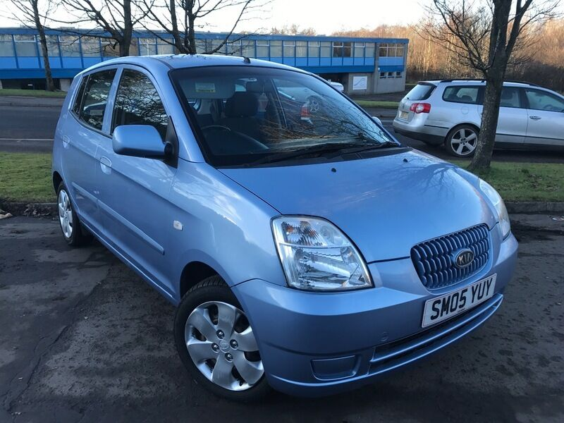 kia picanto 1 1 lx blue 2005 in east kilbride glasgow gumtree. Black Bedroom Furniture Sets. Home Design Ideas