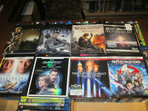 4K movies for sale -- see list --
