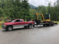 Excavator services for hire