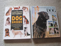 Dog Training/ Reference Books $5 each / dog scrapbook