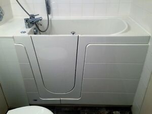 Seabridge Walk in, air jet tub