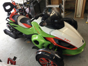 Can Am Spyder RS Special Series 2015