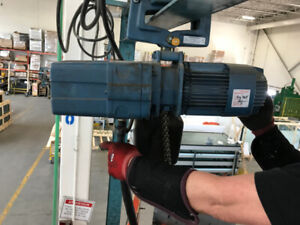 1000lbs Demag electric hoist