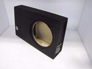 Bassworx 10in SLIM Subwoofer Sealed Enclosure- NEW in box