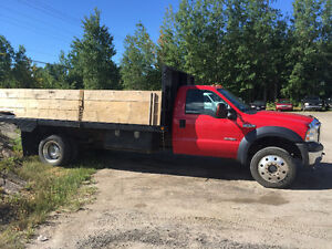 F550 stake/lumber DUMP 4x4 - Just Safetied