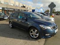 2011 (11) KIA CEE'D 1.6 TD AUTOMATIC Auto Blue Climate Cruise Alloys FSH