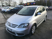 57 REG Volkswagen Golf Plus 1.9TDI PD ( 105PS ) Luna