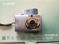 Canon PowerShot SD1100IS- blue