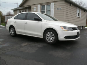 2013 VW Jetta Trendline Plus: Only 100K,5 Speed, Drives Great!