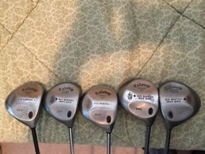 Old (Vintage) Callaway & Taylormade Drivers