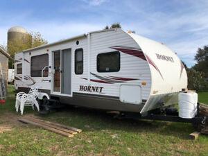30 ft.  Hornet.   Camping trailer