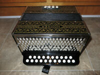 Hohner accordion.Fully Serviced.Key of A/D.Made in Germany!