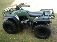 WANTED 85-95 HONDA ATV,S AND ATC,S
