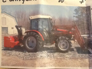 Tracteur agricole TYM 700