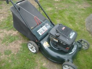 5- GAS PUSH LAWNMOWERS FOR SALE