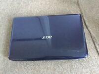 "Acer aspire 5738 15.6"" Windows 7 laptop"