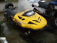 Now parting out ... 2004 Ski-Doo Skandic W/T 550F