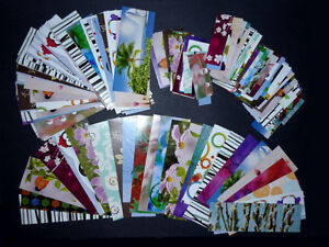 large selection of Cardstock for crafting : More than shown