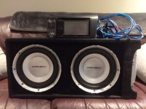 Car Subwoofers and Entertainment Package