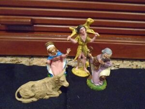 anciens   personnages de Noel  Made in Italy (4)