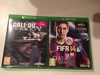 Call of duty ghosts & FIFA 14 , Xbox one ! Price stands , no offers !